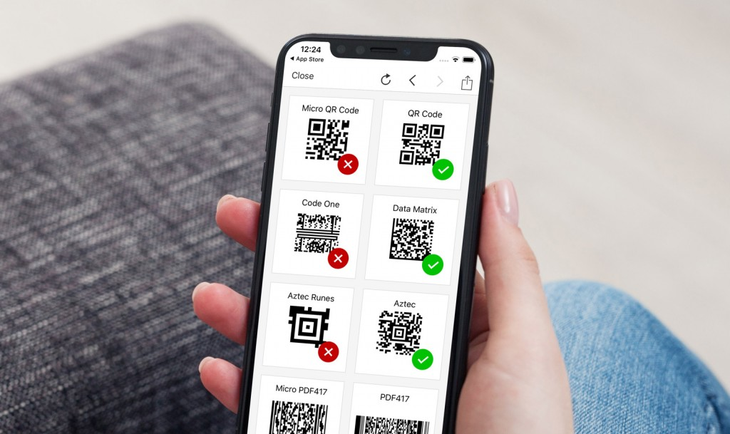 Weekly bug crawl by QA outsourcing company QAwerk: QR Code & Barcode Reader for iOS