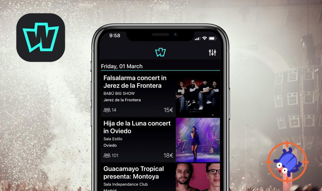 QAwerk Bug Crawl: Bugs found in Wegow Concerts & Festivals for iOS
