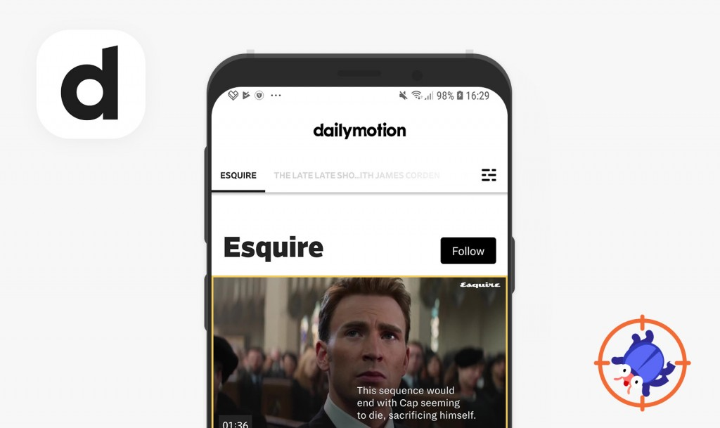 QAwerk Bug Crawl: Bugs found in Dailymotion for Android