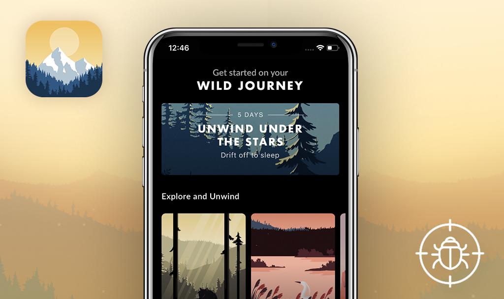 QAwerk Bug Crawl: Bugs found in Wild Journey for iOS