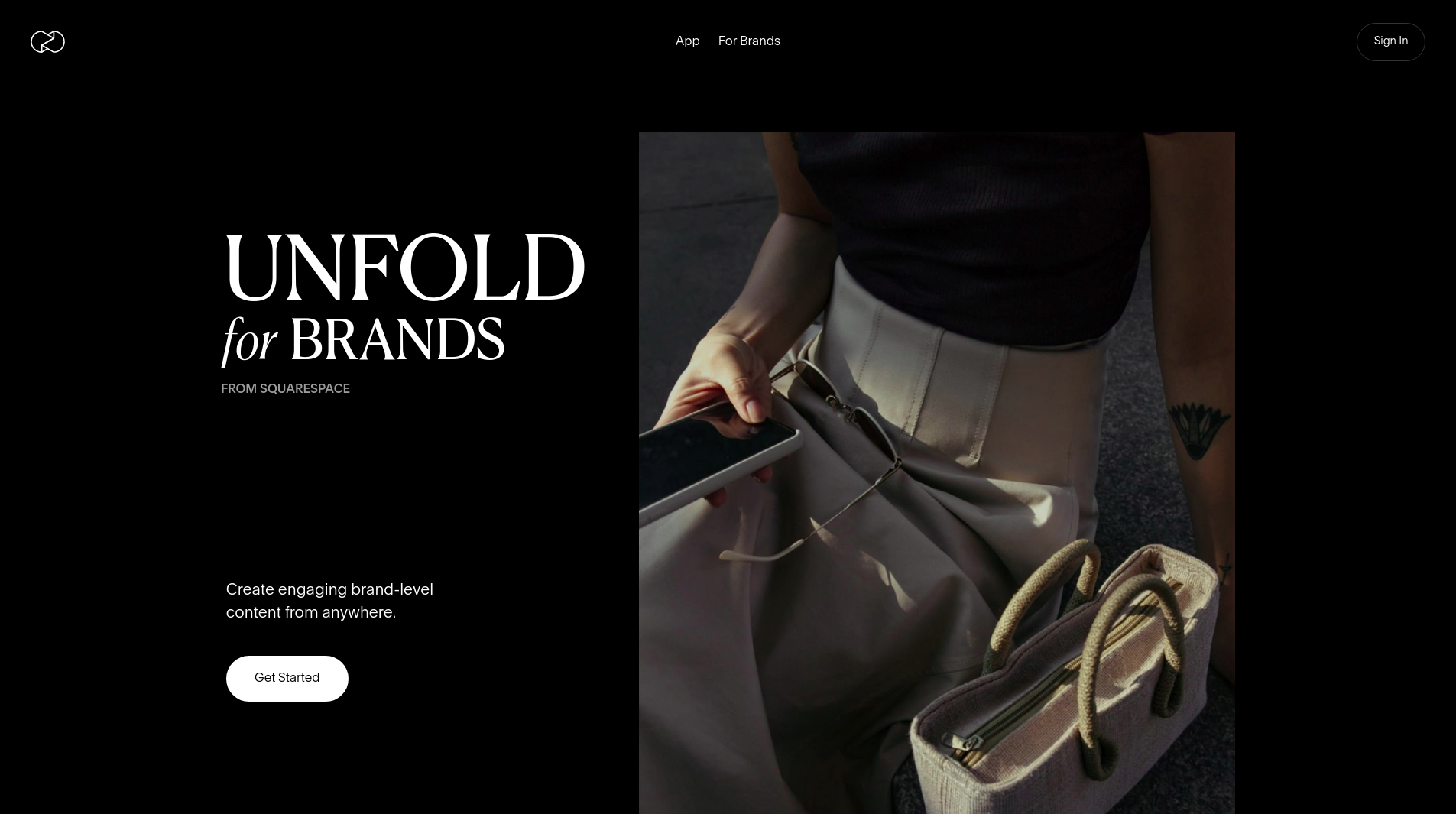 About Unfold for Brands