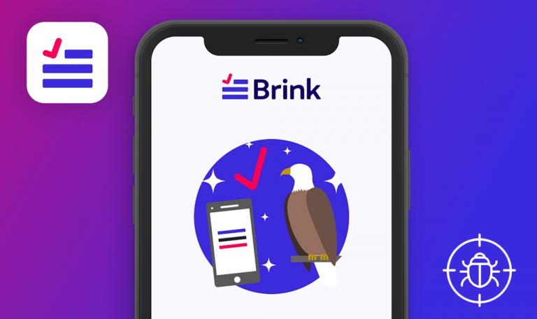 Bugs found in Brink Election Guide for iOS: QAwerk Bug Crawl