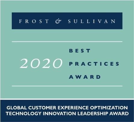 Best Practices Award, Frost & Sullivan