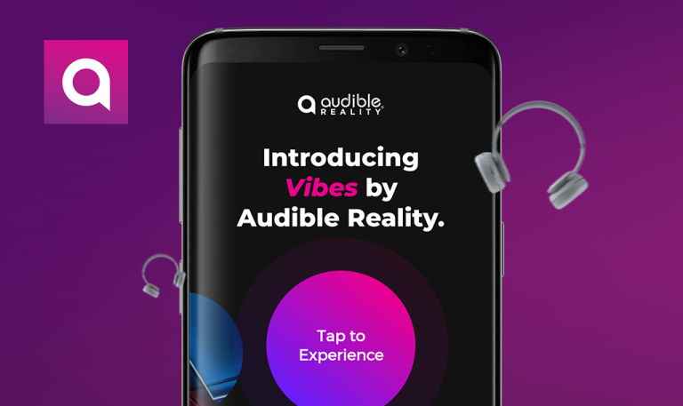Bugs found in Audible Reality - Vibes for Android: QAwerk Bug Crawl