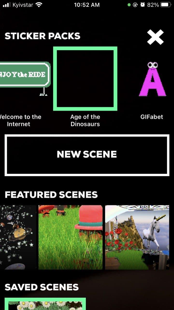 Bugs found in GIPHY World: AR GIF Stickers for iOS: QAwerk Bug Crawl