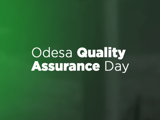Odesa Quality Assurance Day, May 10. Odesa, Ukraine. Offline