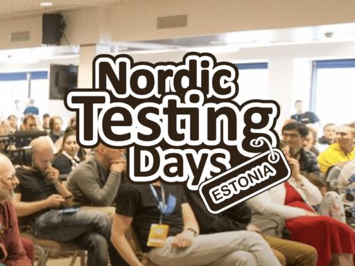 Nordic Testing Days, June 4. Tallinn, Estonia. Virtual