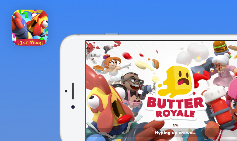 Bugs found in Butter Royale for iOS: QAwerk Bug Crawl