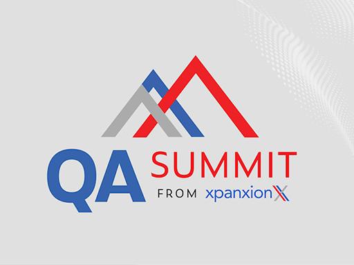 QA Summit from Xpanxion, July 28. Salt Lake City, USA. Offline