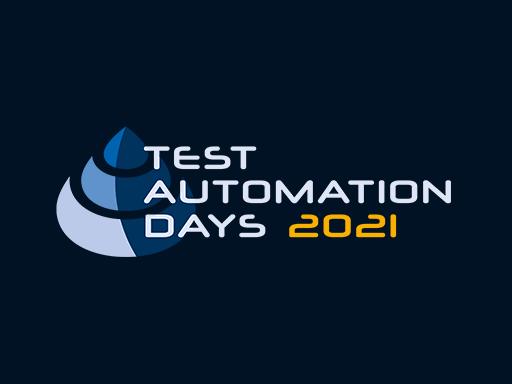 Test Automation Days, September 15-16. Utrecht, The Netherlands. Offline