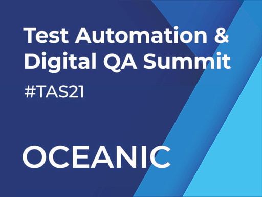 Test Automation & Digital QA Virtual Summit, July 8-9. Virtual