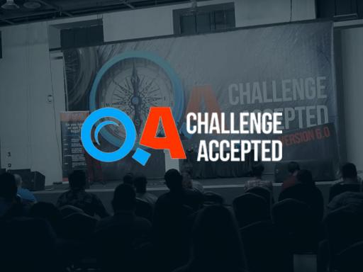 QA: Challenge Accepted, October 2. Sofia, Bulgaria. Hybrid