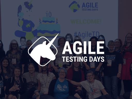 Agile Testing Days, November 15-18. Potsdam, Germany. Offline