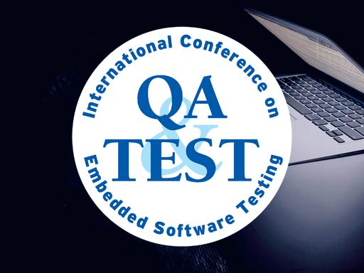 QA&TEST Embedded, October 20-22. Getxo, Spain. Virtual